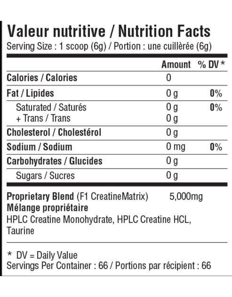 NFA NUTRITION FOR ATHLETES CREATINE+ 400G
