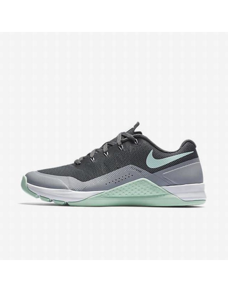 NIKE NIKE METCON REPPER DSX TRAINING SHOE - DARK GREY/WOLF GREY/WHITE/ARTIC/GREEN