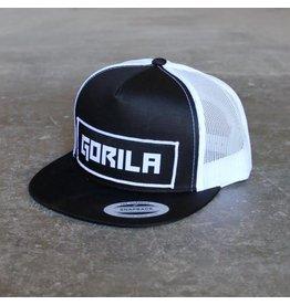 GORILA FITNESS GORILA TRUCKER SNAPBACK BLACK/WHITE