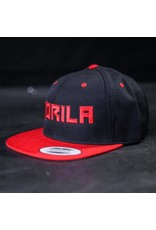 GORILA FITNESS GORILA SNAPBACK BLACK RED