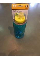 NATHAN NATHAN BIG SHORT 1 LITER WATER BOTTLE - BLUE/YELLOW