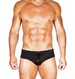 CALIBER CALIBER SWIM BRIEF ORIGINAL FIT, BLACK
