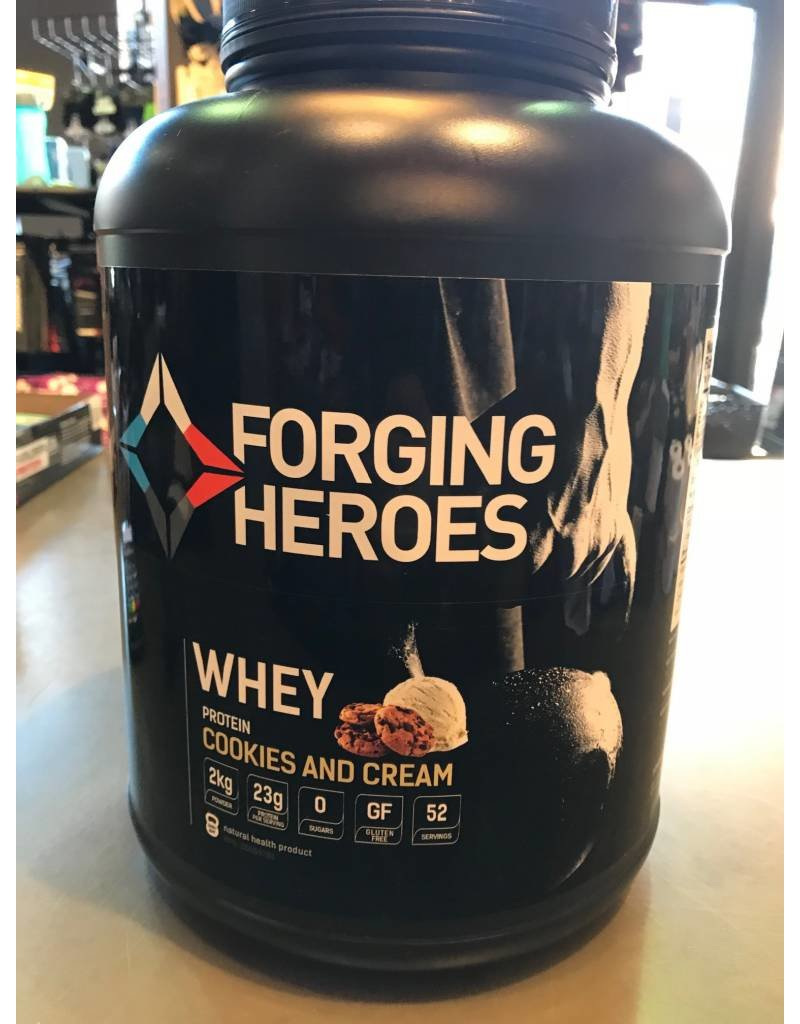 FORGING HEROES FORGING HEROES WHEY PROTEIN 2KG COOKIES&CREAM