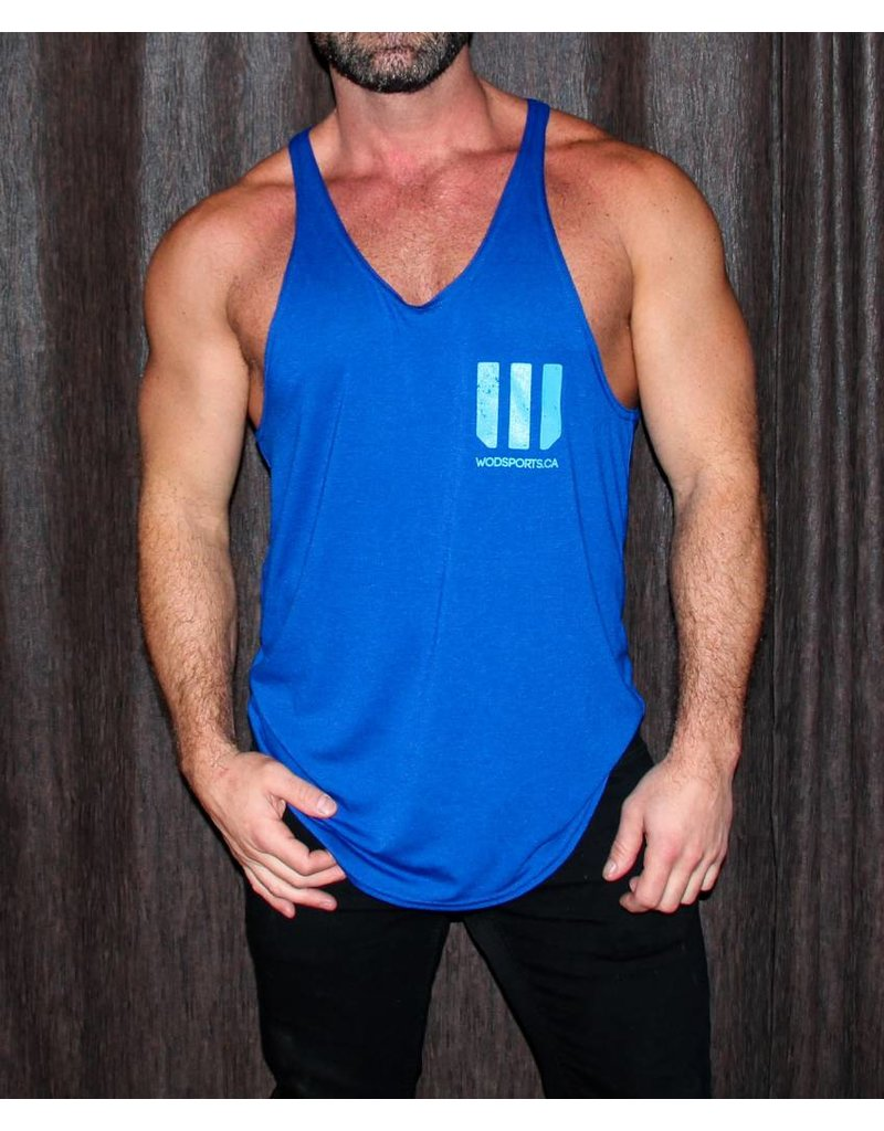 WODSPORTS WOD SPORTS STRINGER TANK, NAVY
