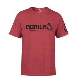 GORILA FITNESS GORILA ATHLETE MEN SHIRT, RED