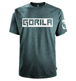 GORILA FITNESS GORILA BOX SHIRT, NAVY HEATHER