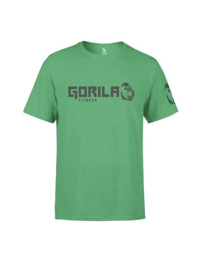 GORILA FITNESS GORILA FITNESS ORIGINAL T-SHIRT MEN, GREEN