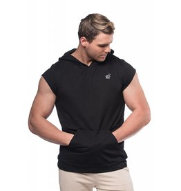 JED NORTH JED NORTH IMPACT SLEEVELSS HOODIE BLACK