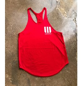 WODSPORTS WOD SPORTS STRINGER, RED/WHITE