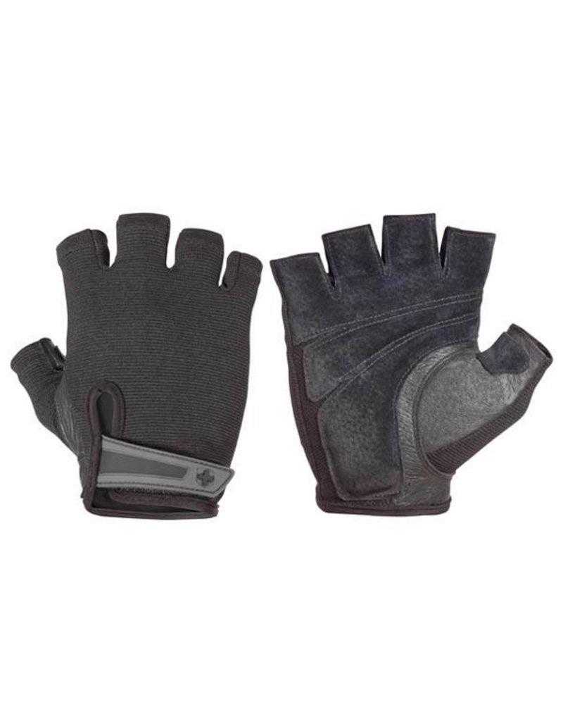 HARBINGER MEN'S PRO GLOVES, BLACK