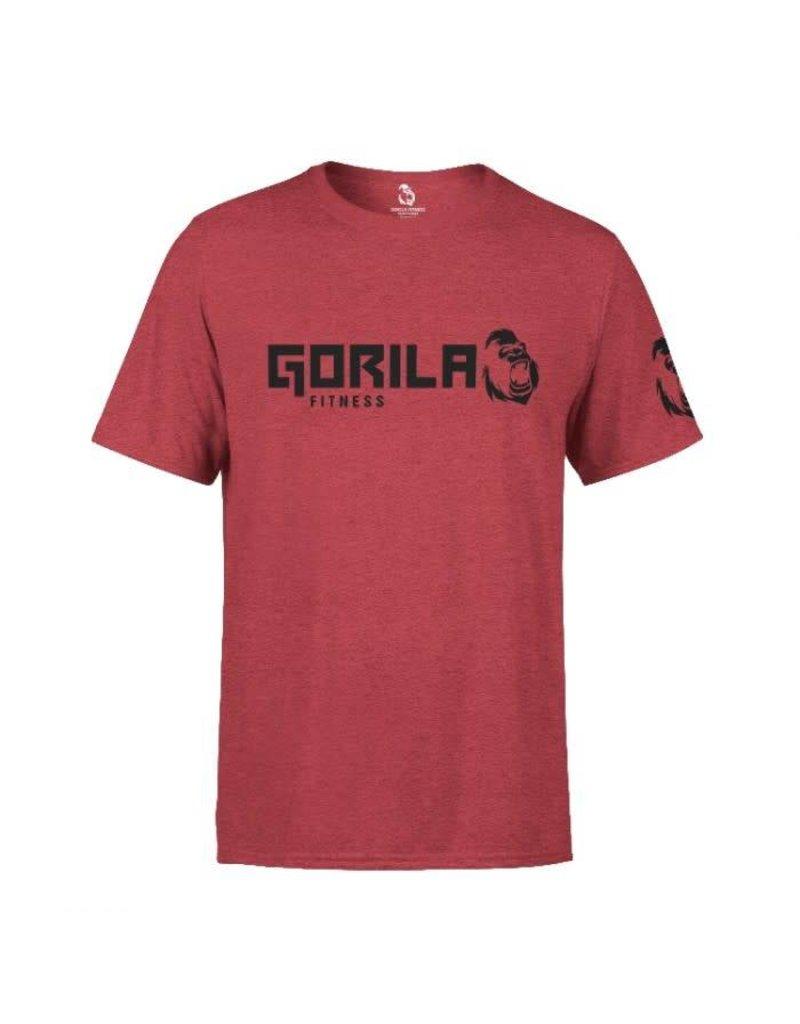 GORILA FITNESS GORILA FITNESS ORIGINAL T-SHIRT MEN, RED