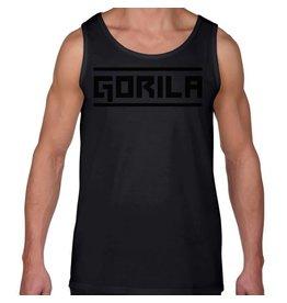 GORILA FITNESS GORILA MEN'S TANK TOP BLACK