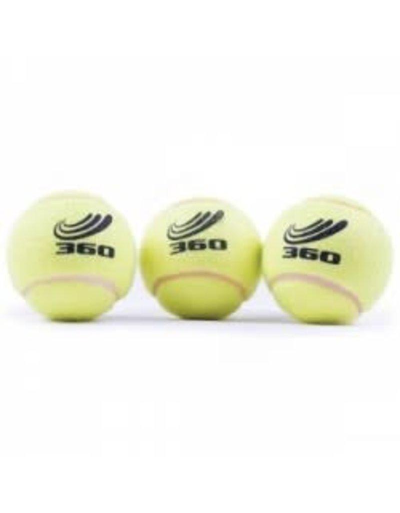 360 ATHLETICS 360 TENNIS BALLS POLY BAG OF 3