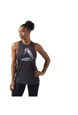 REEBOK REEBOK BURNOUT TANK, GREY
