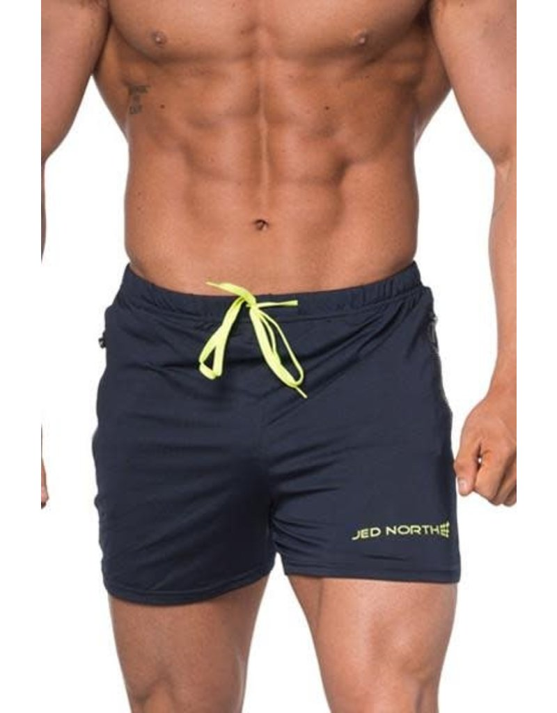 JED NORTH AGILE SHORTS NAVY BLUE