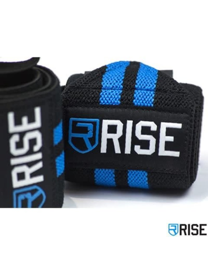 RISE RISE WRIST WRAPS CLASSIC BLUE 18''
