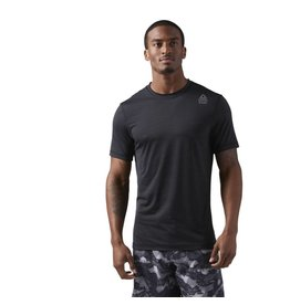 REEBOK REEBOK RC ACTIVE CHILL VENT TEE - BLACK