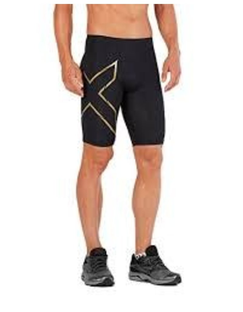 2XU 2XU MCS CROSS TRAINING COMP SHORTS - BLACK/GOLD