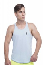 JJ MALIBU JJ MALIBU DRI-FIT T-BACK TANK TOP, BLUE