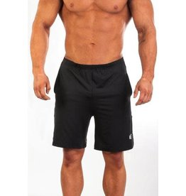 JED NORTH JED NORTH TECH PERFORMANCE SHORTS, BLACK
