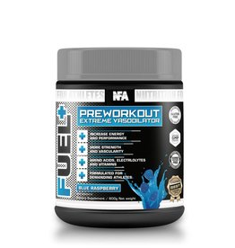 NFA NUTRITION FOR ATHLETES FUEL+ 600G, BLUE RASPBERRY, UNIQUE