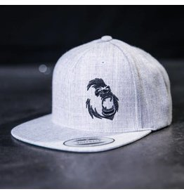 GORILA FITNESS GORILA SNAPBACK HEATHER GREY