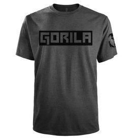 GORILA FITNESS GORILA BOX SHIRT GREY AND BLACK