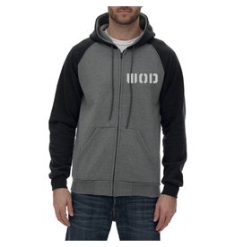 WOD SPORT WOD HOODED FLEECE ZIP - DARK GREY