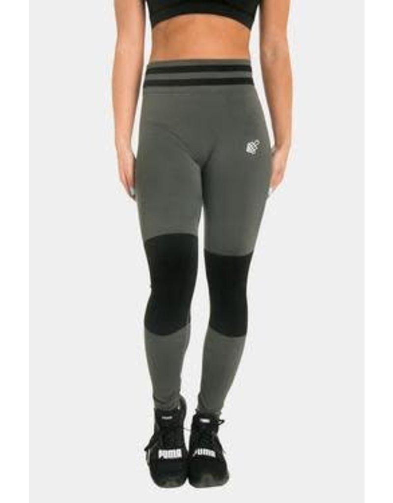 JED NORTH JED NORTH STORM SEAMLESS LEGGINGS - GREY
