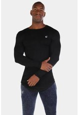 JED NORTH JED NORTH EVOLVE lONG SLEEVE BLACK
