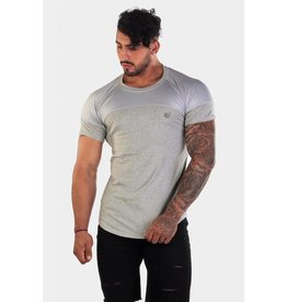 JED NORTH JED NORTH CORE MESH TEE GREY
