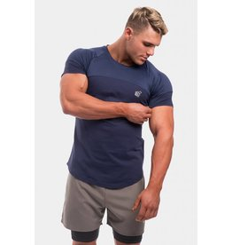 JED NORTH JED NORTH CORE MESH TEE NAVY