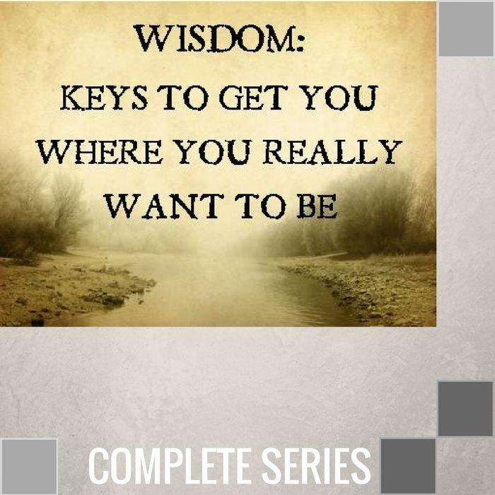 10(J001-J010) - Wisdom-Keys To Get You Where You - Complete Series