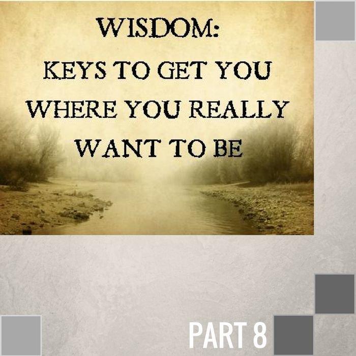 08(J008) - The Wisdom Of Waiting On God