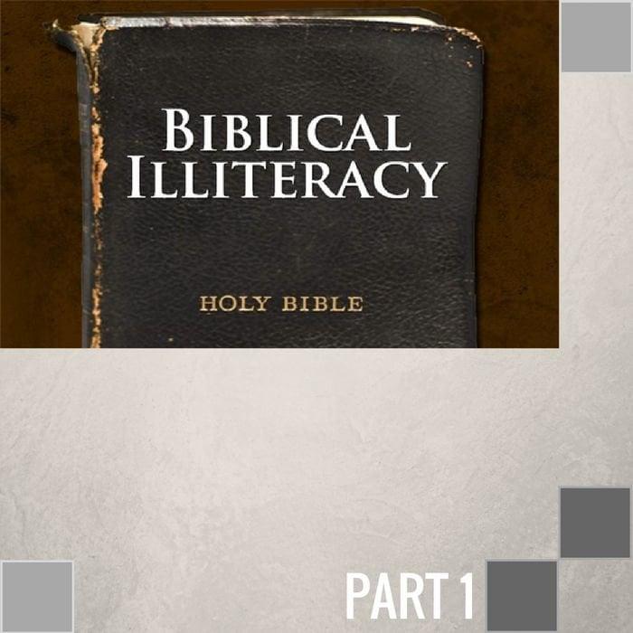 00(H025) - Biblical Illiteracy