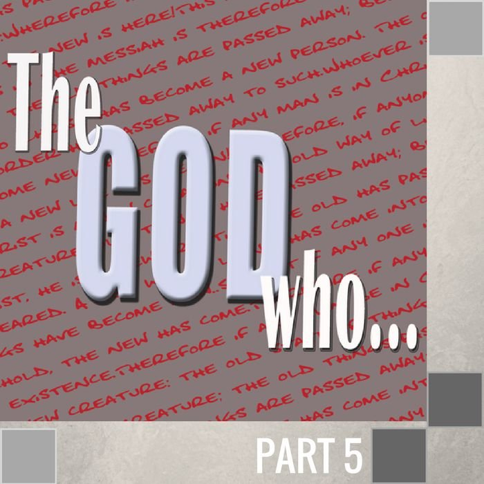 05(F030) - The God Who Chose A Wise Mother