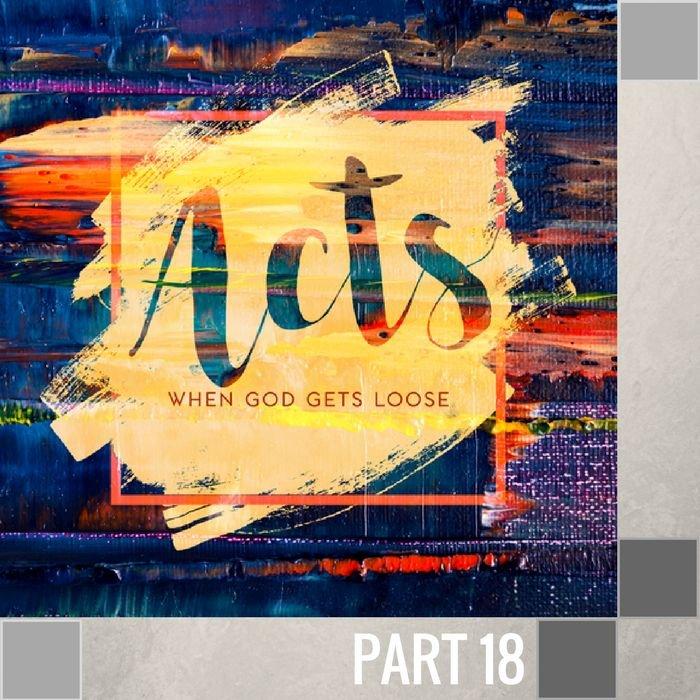 18(U033) - Paul Faces King Agrippa