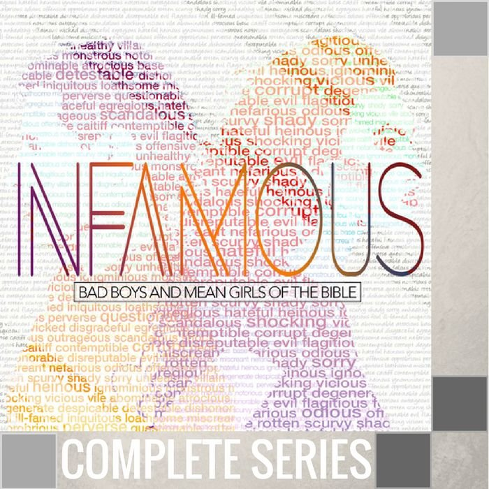 08(A047-A054) - Infamous  {Bad Boys And Mean Girls Of The Bible} - Complete Series