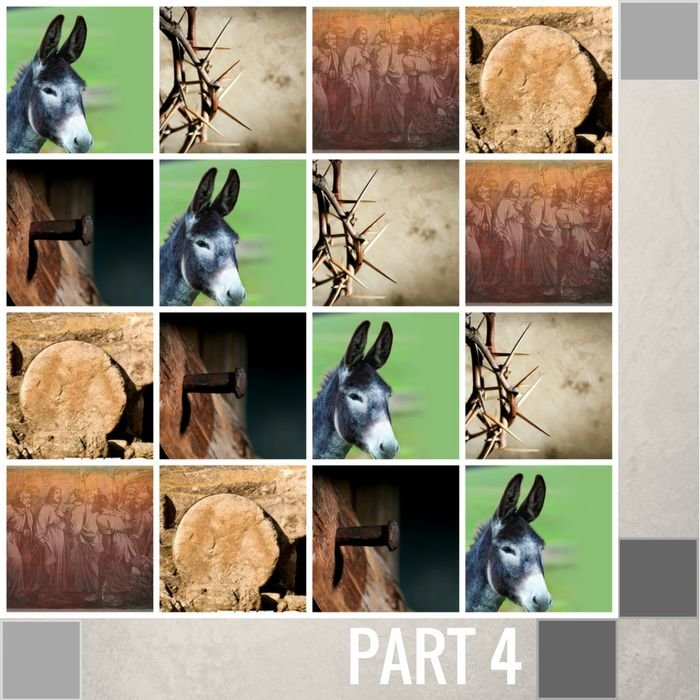 04(N024) - The Donkey - Remembering The First Palm Sunday