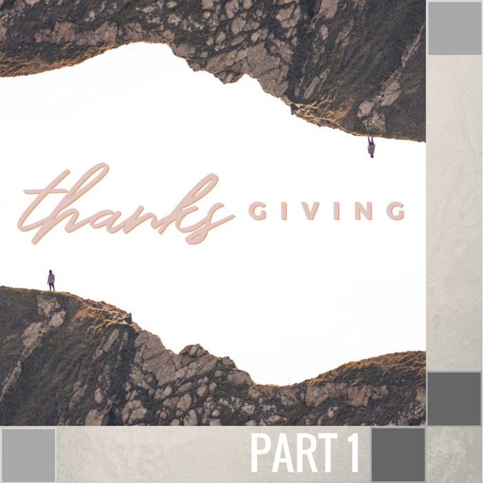 00(K044) - Three Signs Of A Thankful Heart