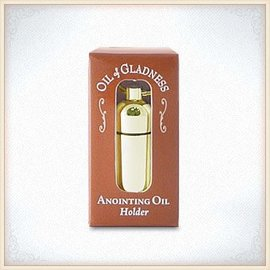 Oil Holder - Goldtone Boxed