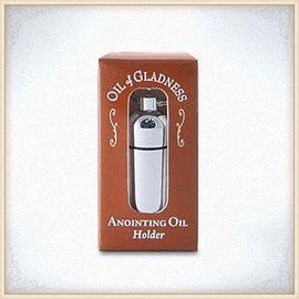 Oil Holder - Silvertone Boxed
