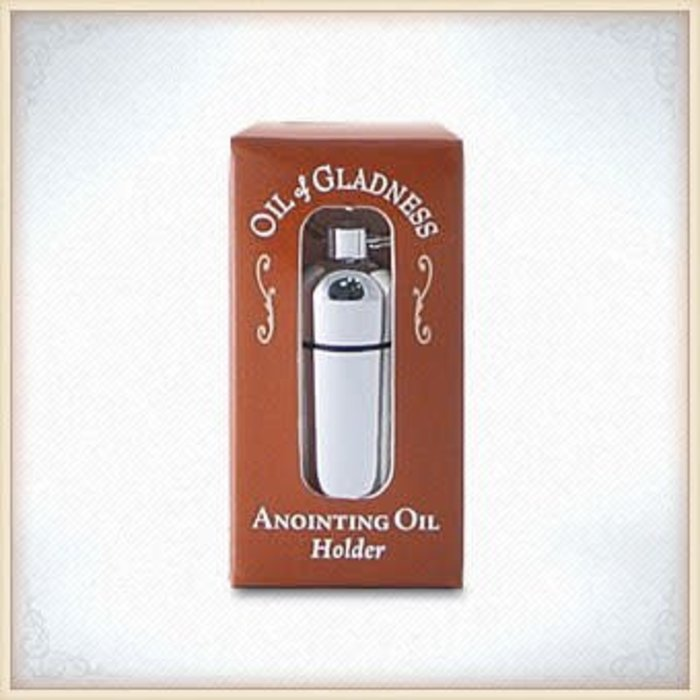Oil Holder - Silvertone Boxed