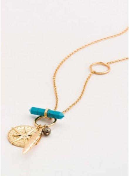 Gorjana Wanderlust Toggle Versatile Necklace