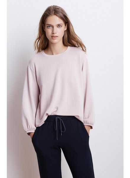Velvet by Graham and Spencer Ember Fleece Crewneck Top