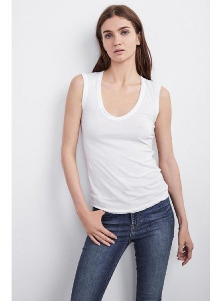 Velvet by Graham and Spencer Estina Gauzy Whisper Tank Top