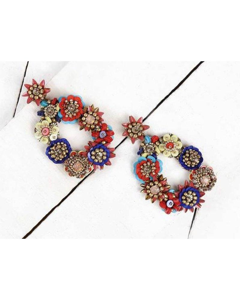 Deepa Gurnani Deepa by Deepa Gurnani Cherise Earrings uxUDL
