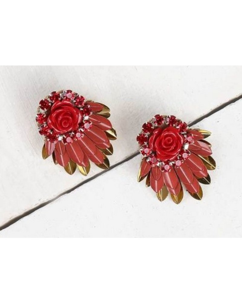Deepa Gurnani Cylee Earrings
