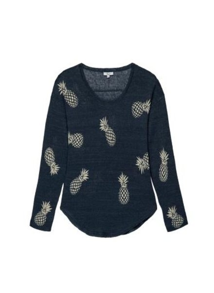 Rails Perri Linen Pineapple Sweater