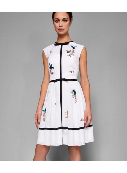Ted Baker Highgrove Embroidered Dress
